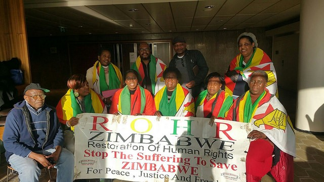 ROHR Zimbabwe Central London Branch General Meeting Saturday 4th February, 2017 Report